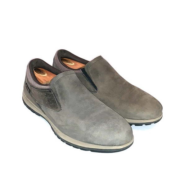 Columbia Mens Suede Slip On Shoes Size